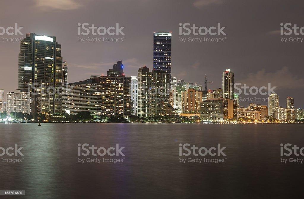 Growing Miami stock photo