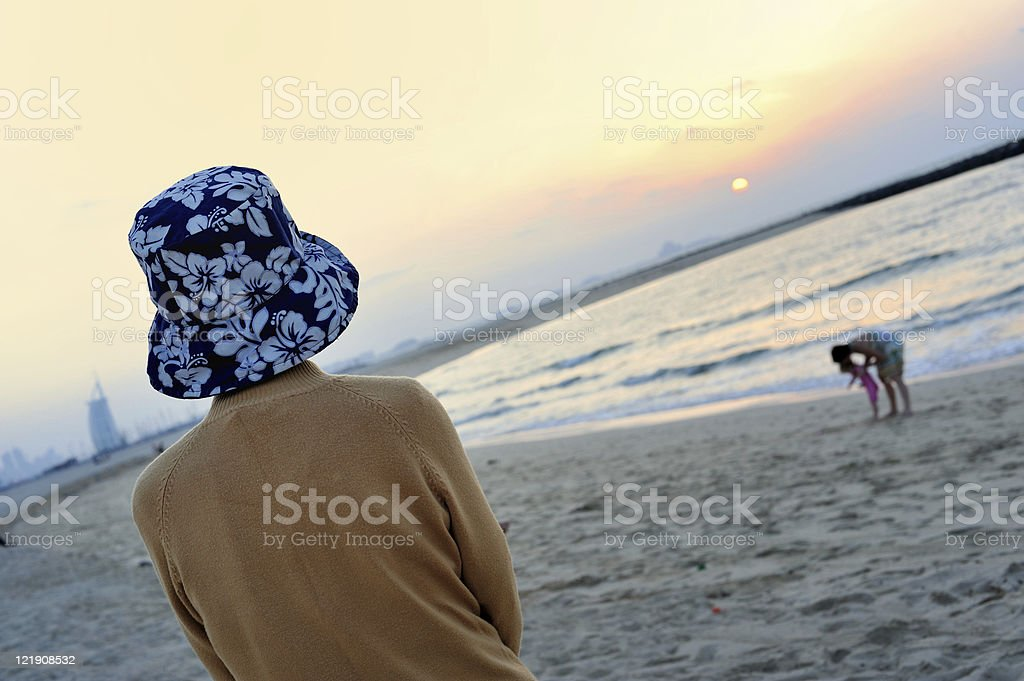 growing old stock photo