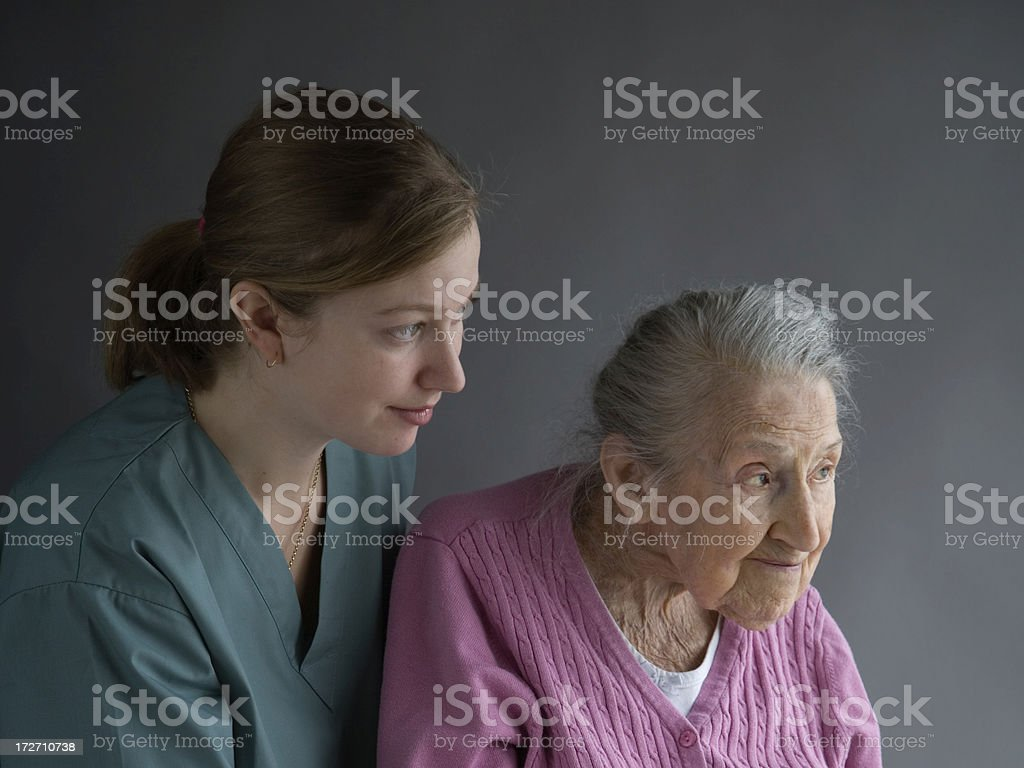 Growing Old royalty-free stock photo