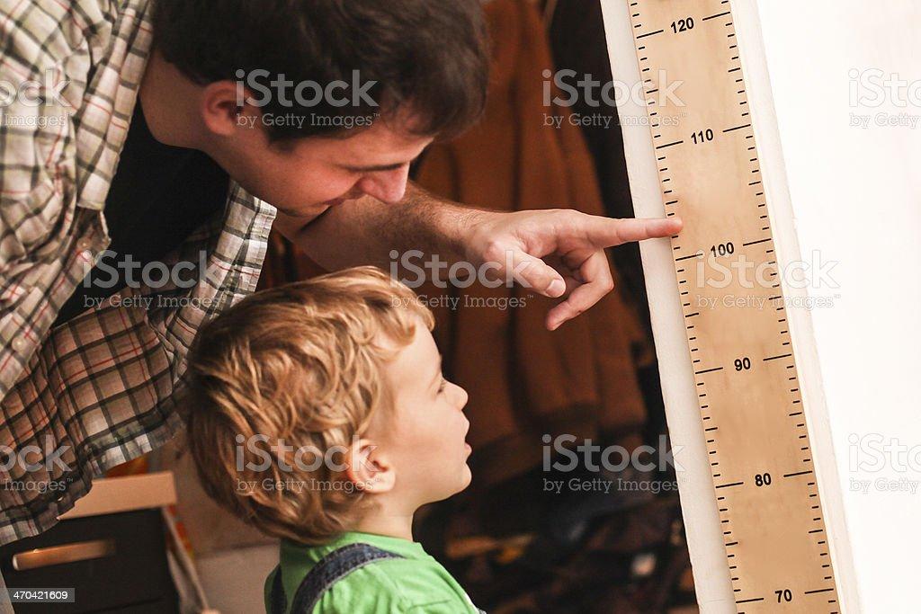 Growing up stock photo