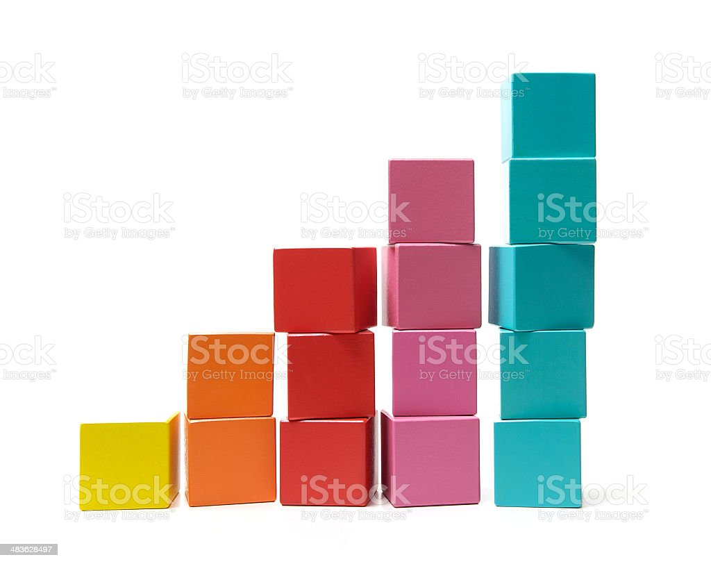 Growth and achievement stock photo