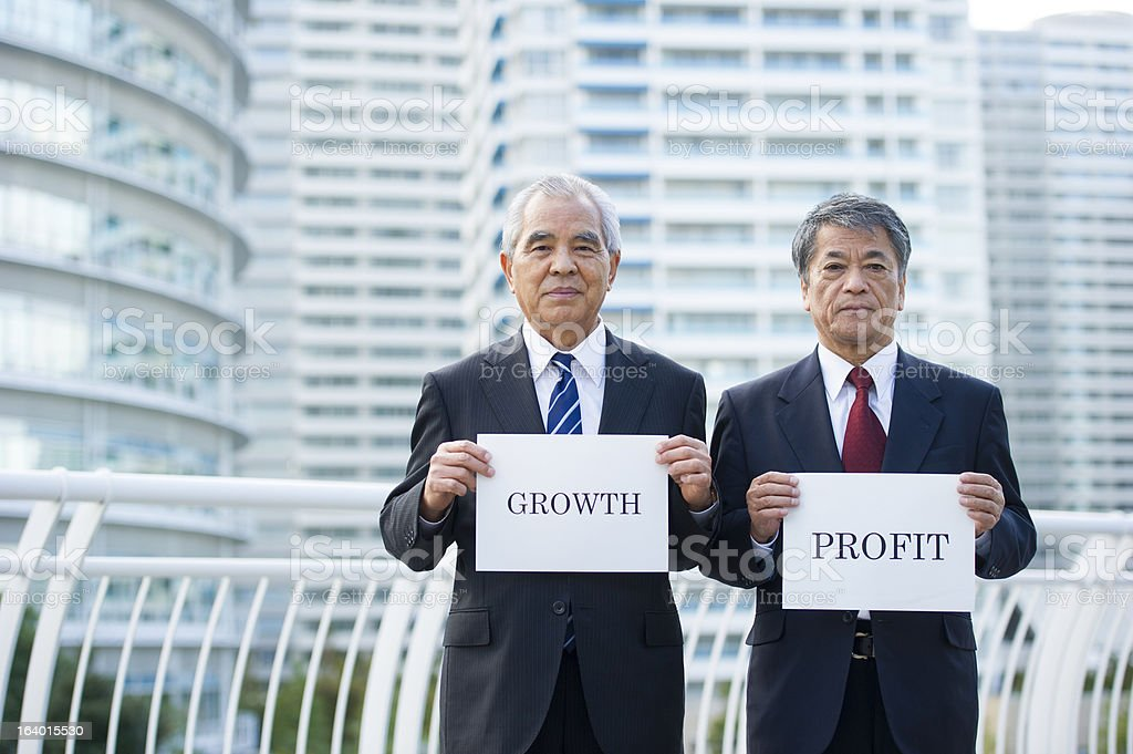 Growth and Profit royalty-free stock photo