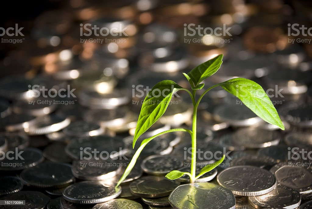 Growth and success royalty-free stock photo