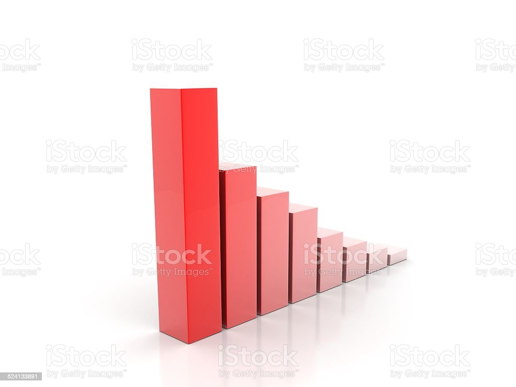 growth graph - Stock Image stock photo