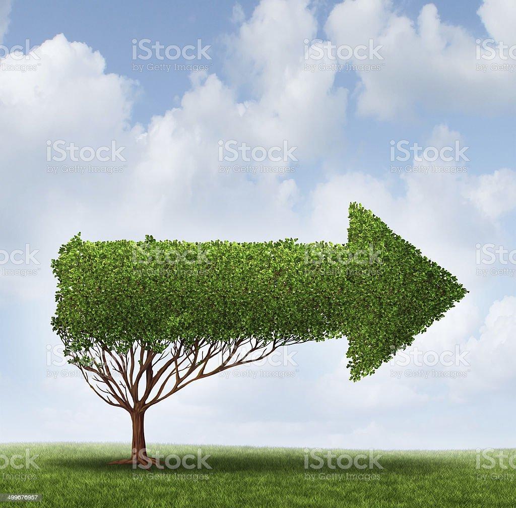 Growth Guidance stock photo