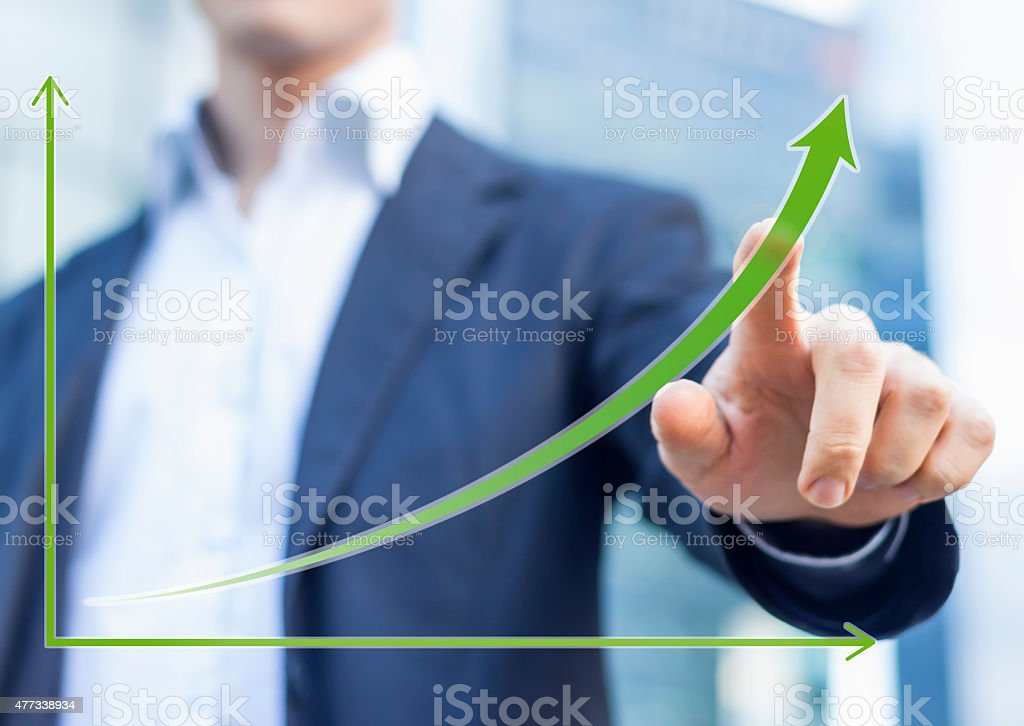 growth in business stock photo