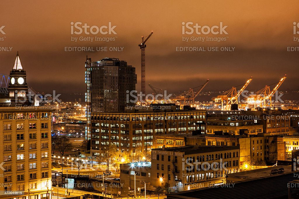 Growth in Seattle stock photo