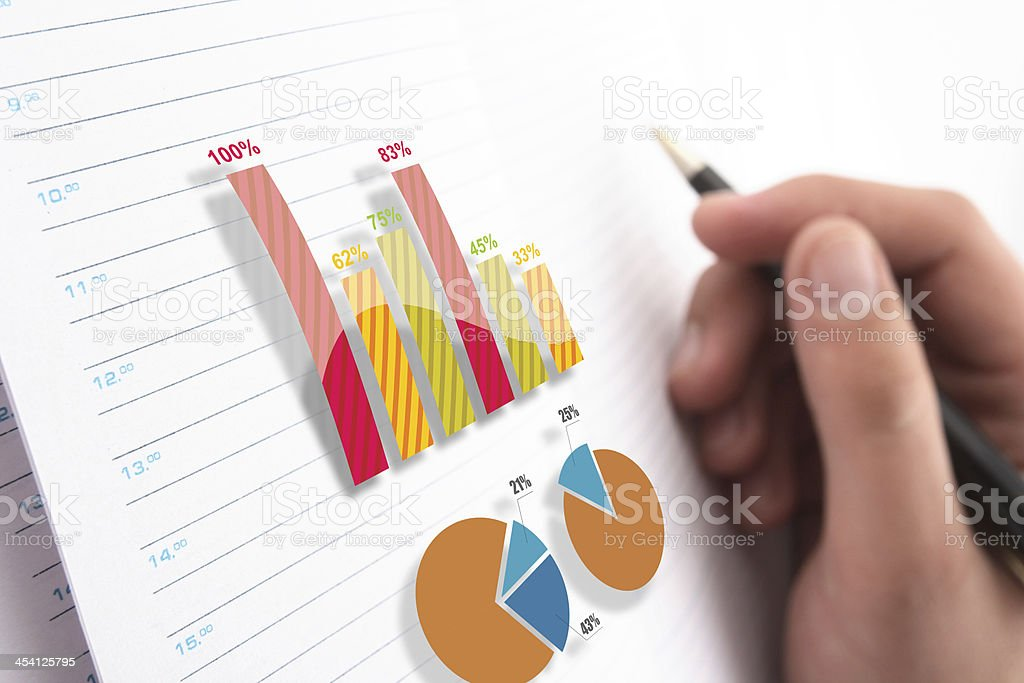 Growth measurement royalty-free stock photo