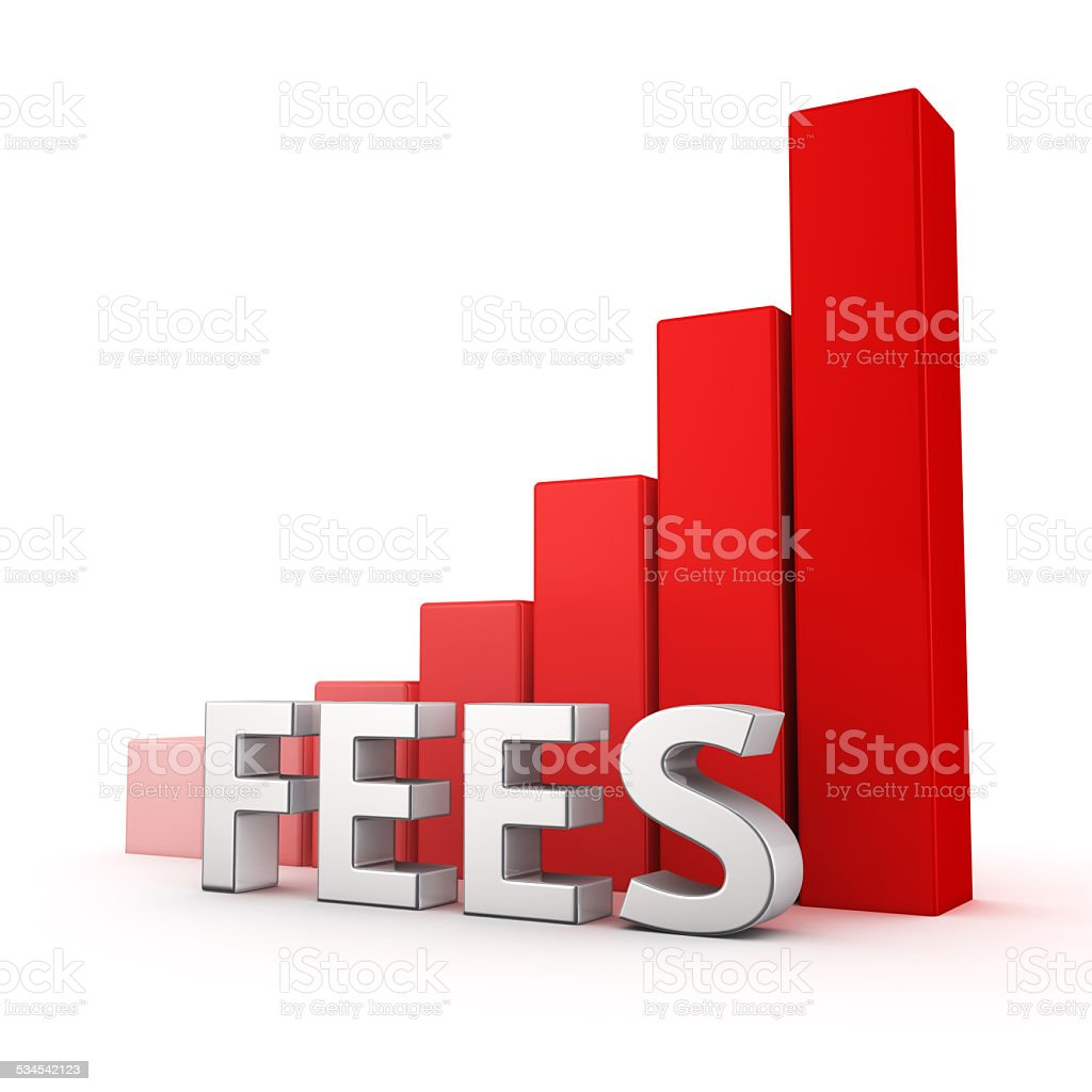 Growth of Fees stock photo