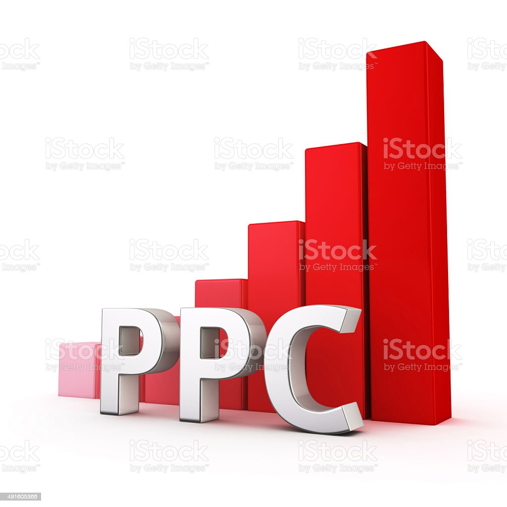 Growth of PPC stock photo