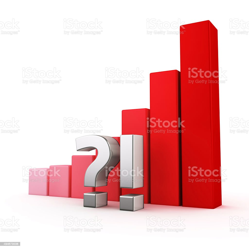 Growth of Uncertainty stock photo