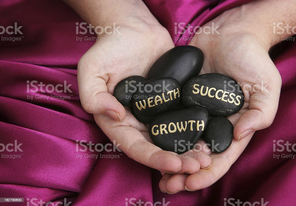 Growth, Success, Wealth royalty-free stock photo