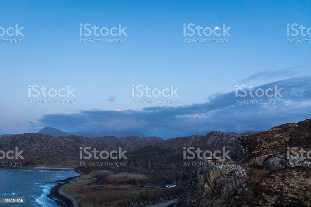Gruinard Bay stock photo
