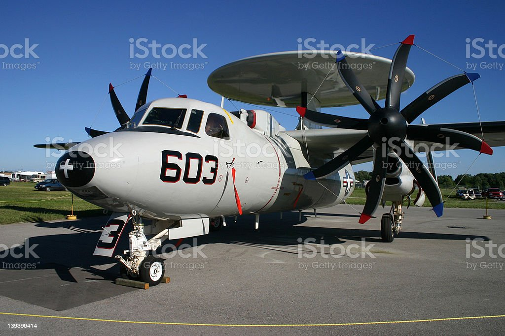 Grumman E-2C Hawkeye stock photo