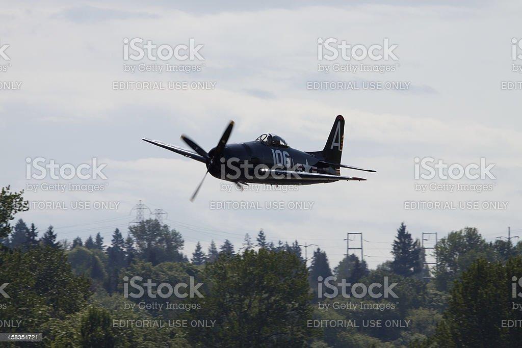 Grumman F8F Bearcat stock photo