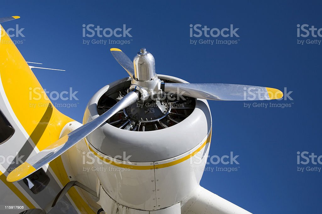 Grumman Mallard-1 stock photo