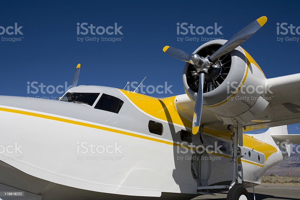 Grumman Mallard-4 stock photo