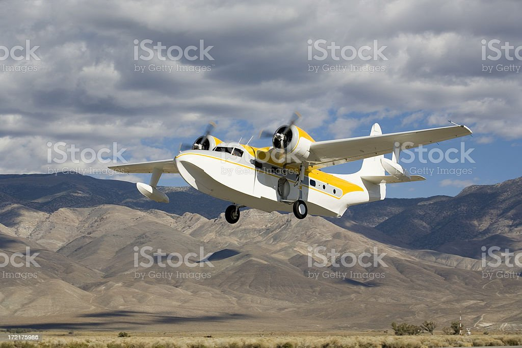 Grumman Mallard-6 stock photo