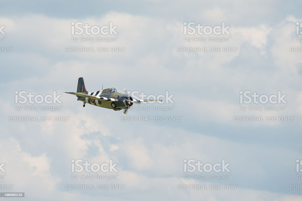 Grumman Wildcat aircraft stock photo