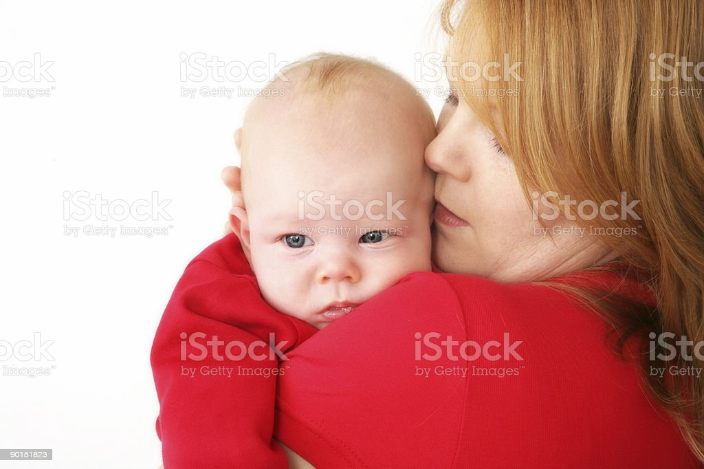 Grumpy Baby royalty-free stock photo