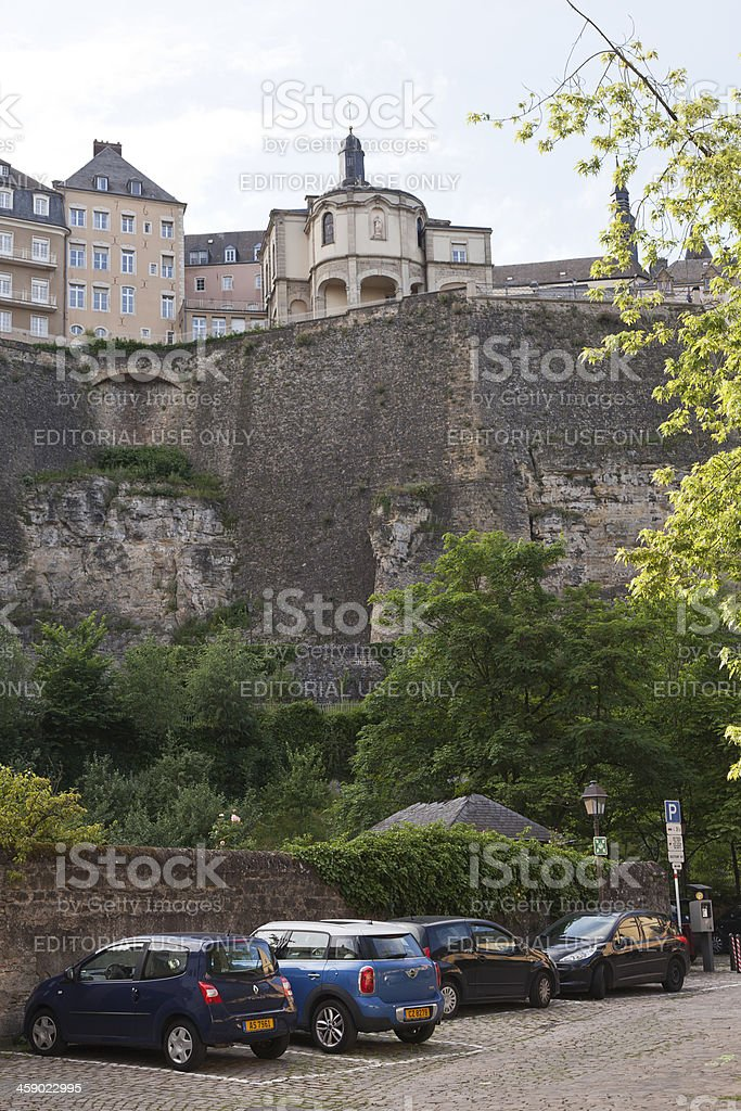Grund District of luxembourg royalty-free stock photo