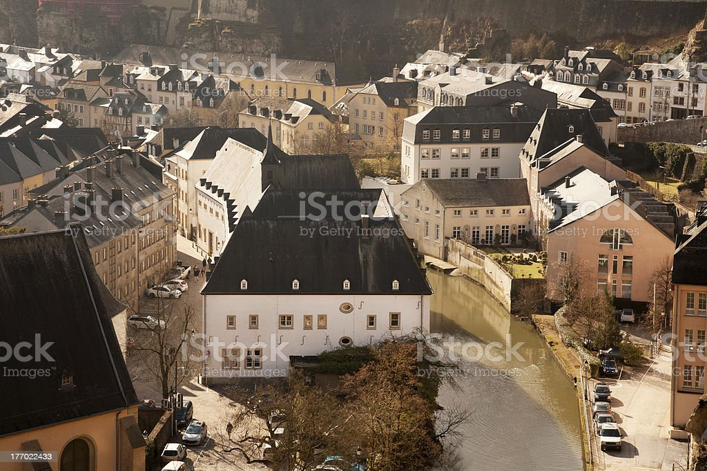 Grund from above royalty-free stock photo