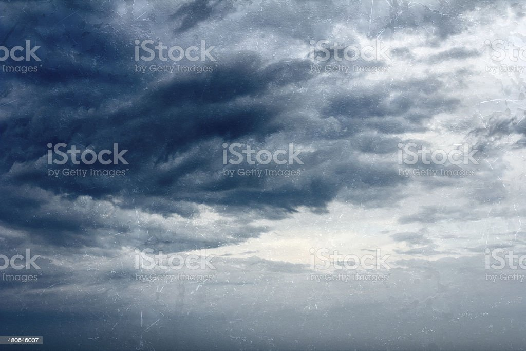 Grundgy Storm royalty-free stock photo