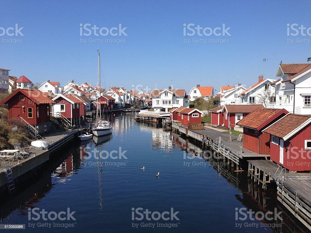 Grundsund stock photo