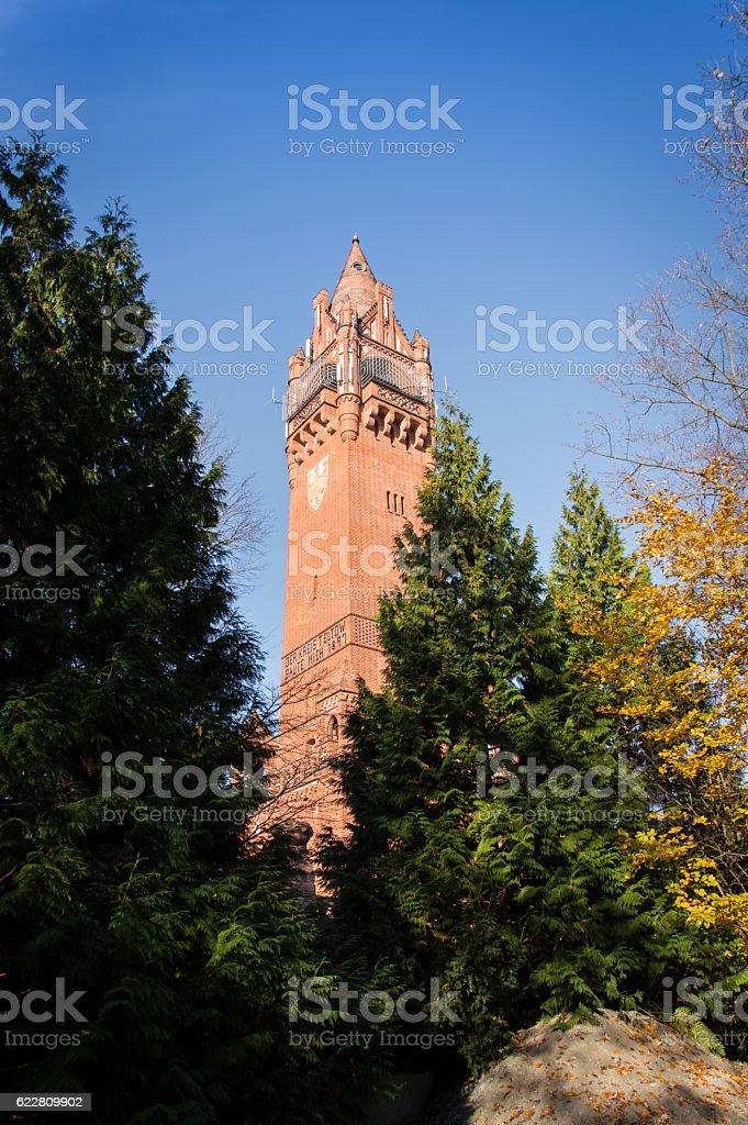 Grunewaldturm / Grunewald Tower stock photo