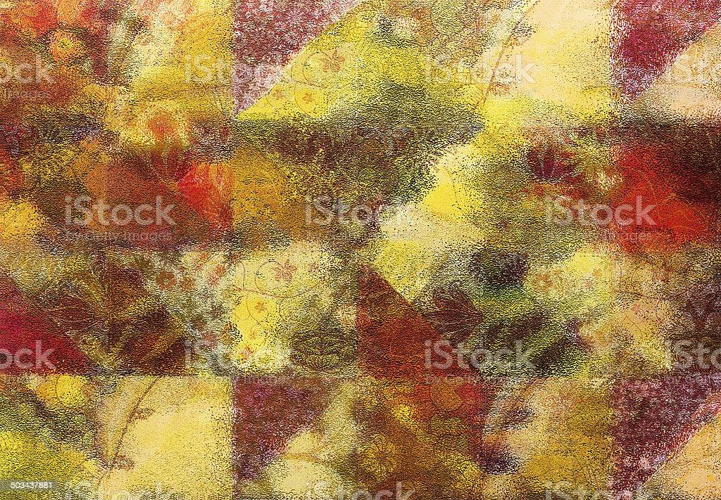 Grunge Abstract Pattern stock photo
