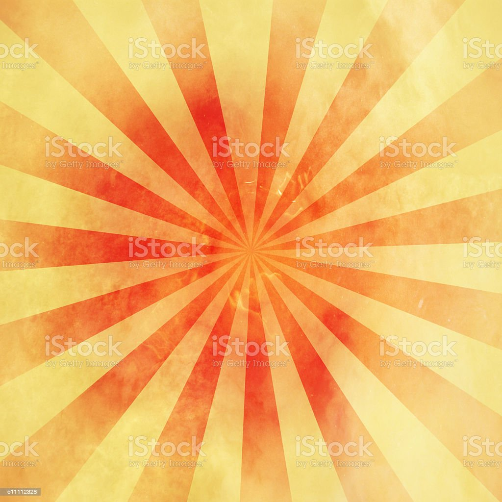 grunge backgrond sunburst vintage with texture stock photo