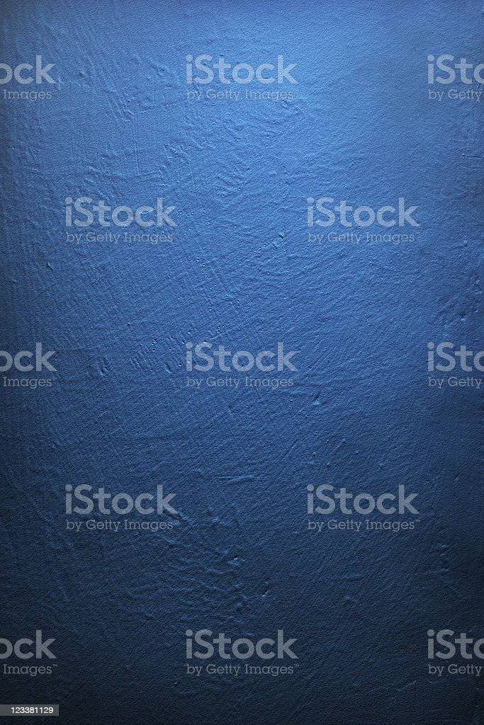 Grunge Background, Deep Blue Wall Texture royalty-free stock photo