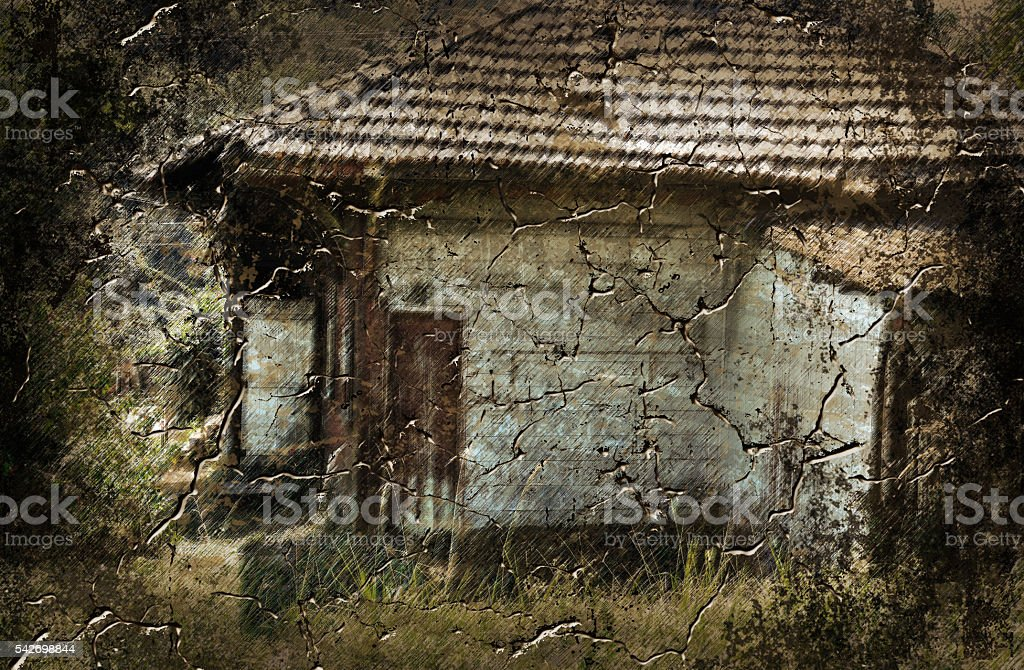 grunge background Home stock photo