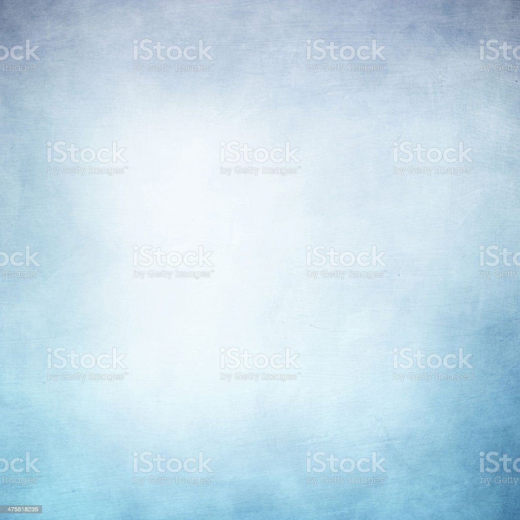 Grunge background in blue and white color stock photo