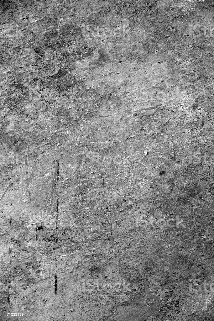 Grunge Background or Texture - Scratched Plaster royalty-free stock photo