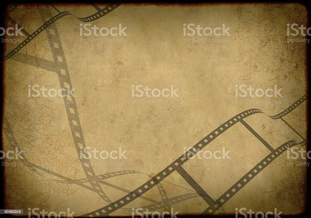 Grunge background - symbolical the image of a film royalty-free stock photo