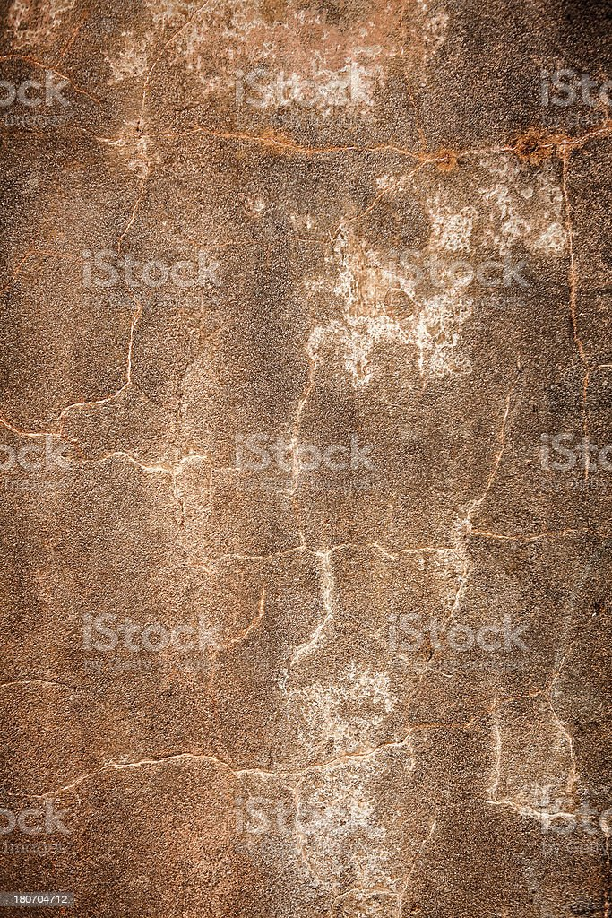 Grunge Background Texture: Cracked Cement royalty-free stock photo