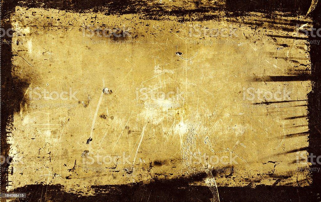 Grunge Background with Black Border stock photo