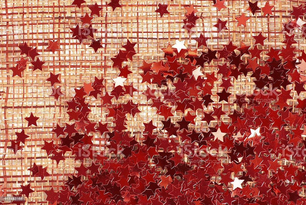 grunge background with red stars stock photo