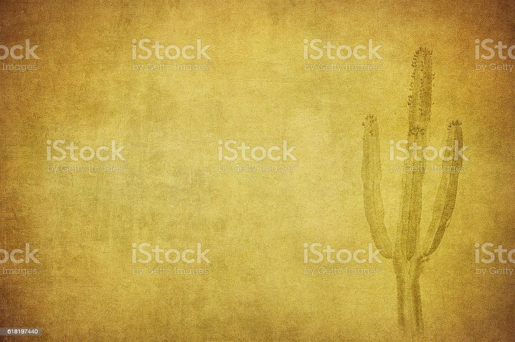 grunge background with wild west landscape stock photo