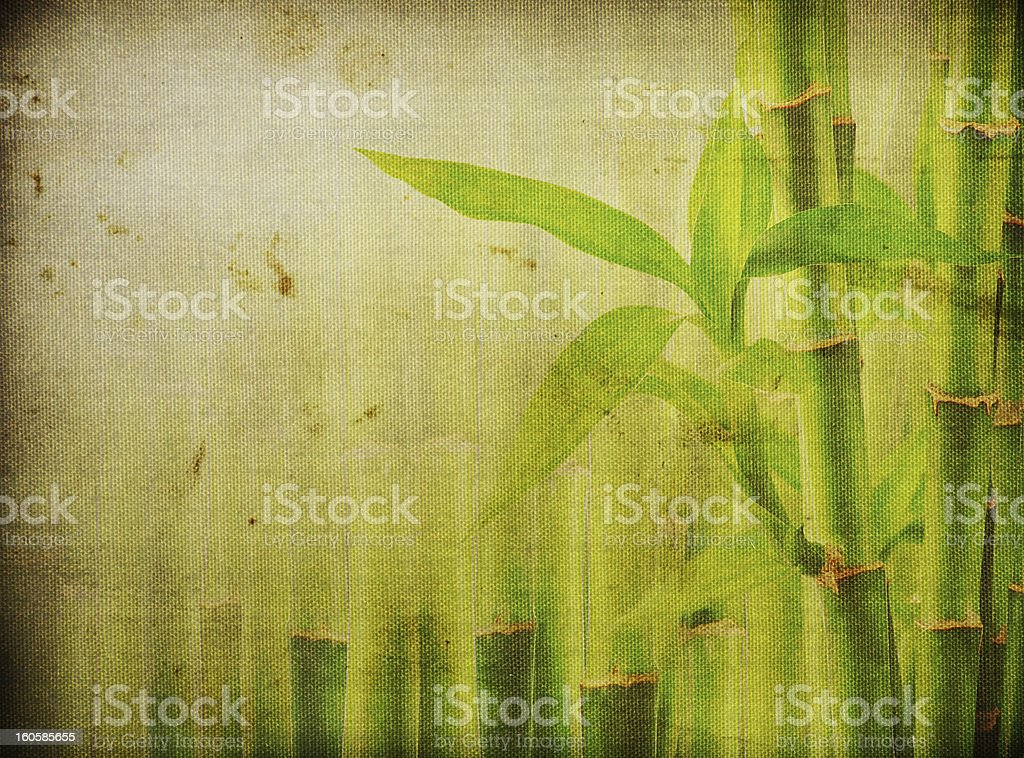 grunge bamboo background royalty-free stock vector art