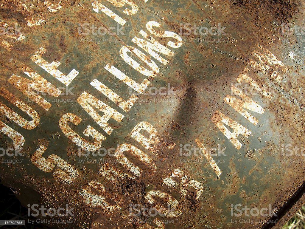 grunge barrel royalty-free stock photo