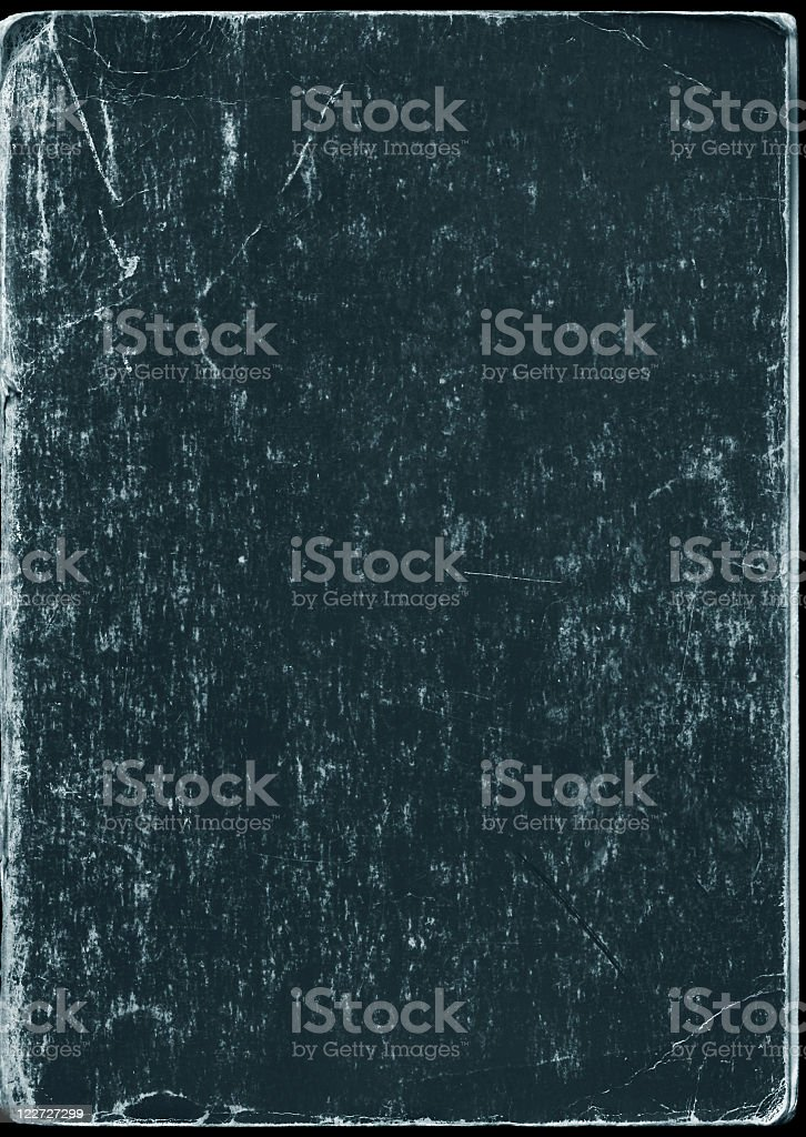 Grunge black book cover royalty-free stock photo