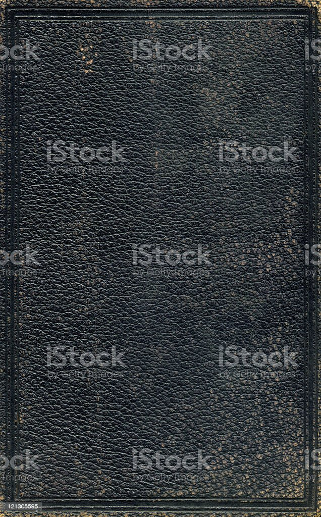 grunge black leather royalty-free stock photo