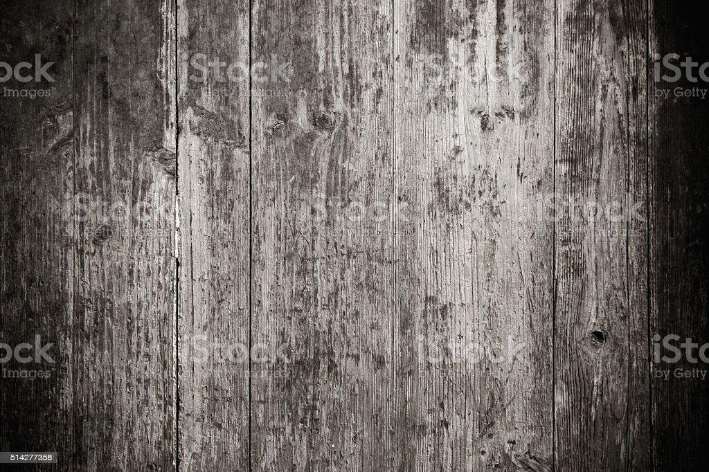 Grunge black wood textured background stock photo