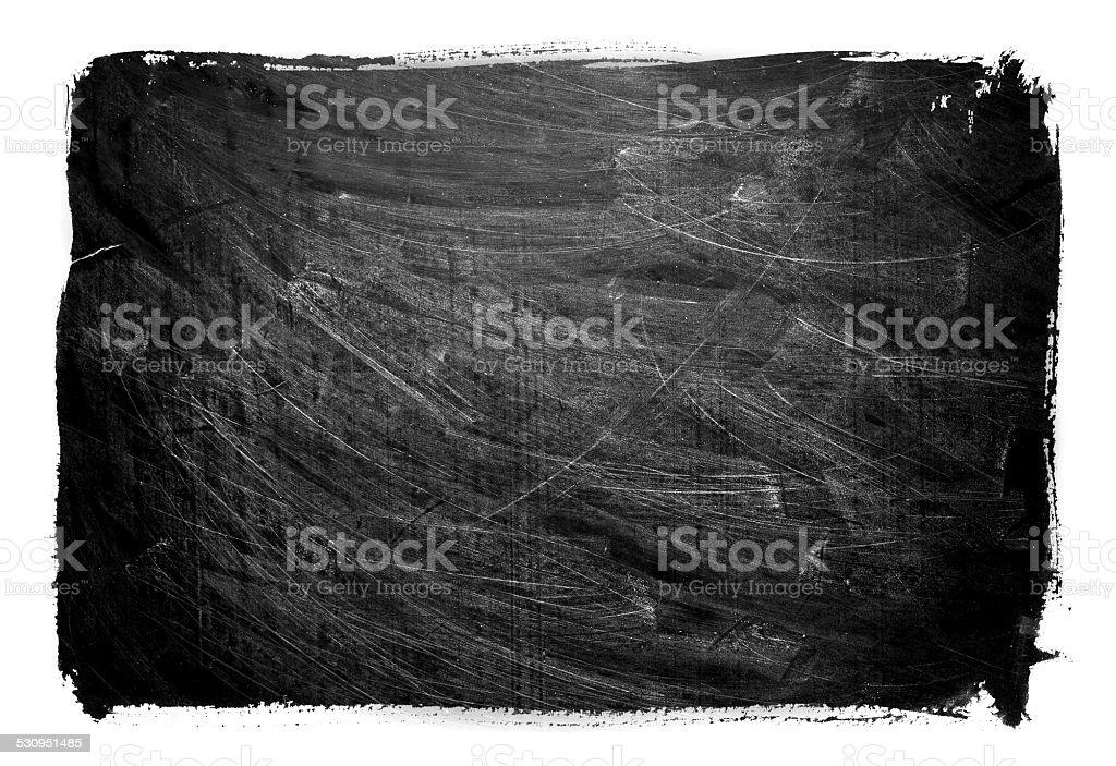 Grunge Blackboard textured background  isolated stock photo