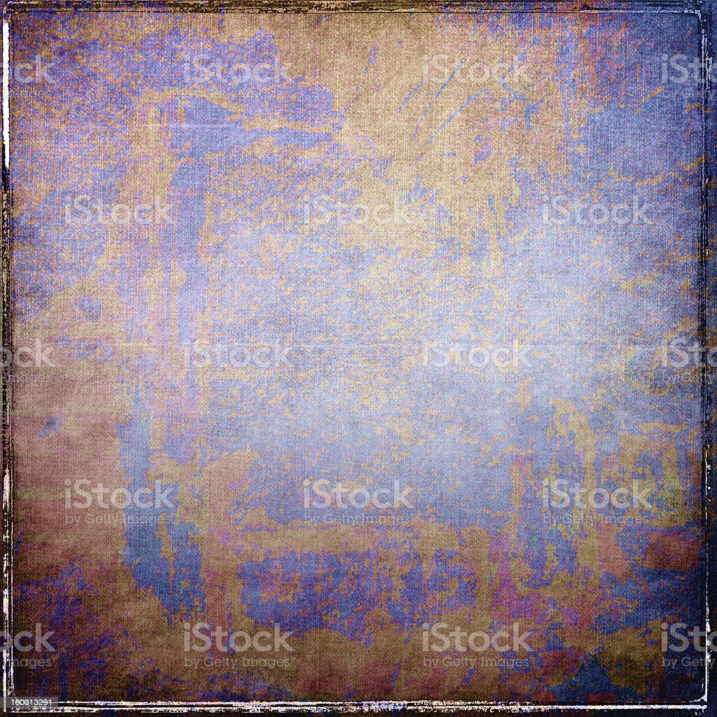 Grunge blue abstract background royalty-free stock photo