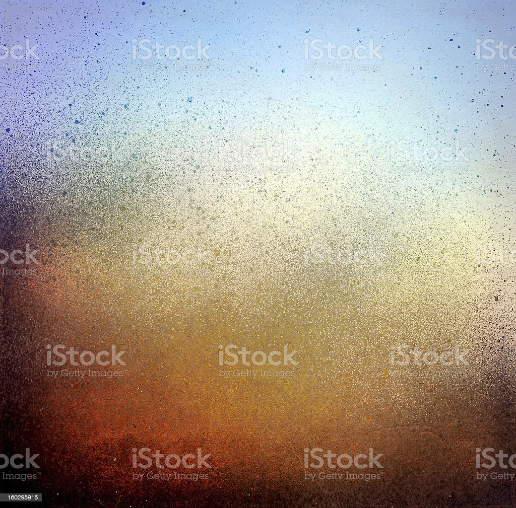 Grunge blue and brown color texture stock photo