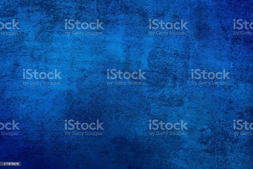 Grunge blue textured background royalty-free stock photo