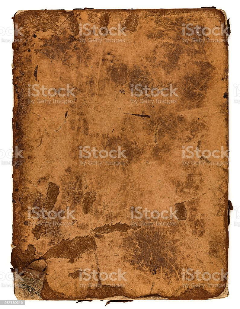 Grunge book stock photo